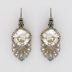 Find Sorrelli Earrings from the Pewter Collection.: Jewelry Earrings 003 Bling, Art Deco Earrings, Dress, Diamond, Crystal Earrings, Vintage Jewelry Art Deco, Accessories, Sorrelli Earrings, Bride