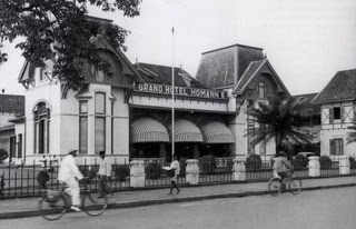 past photo of hotel homann bandung