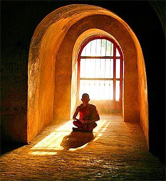 Myanmar's monk