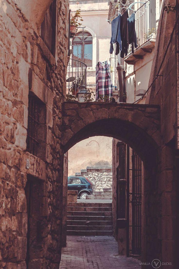 Rue de Modica, en Sicile