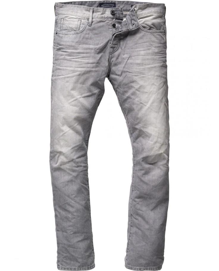 Ralston - 5 Pocket Slim Fit - Luminous Grey Denim - Scotch & Soda 2012 AW