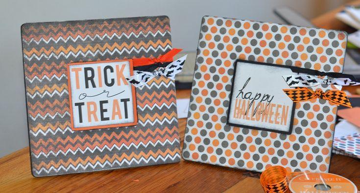 DIY $1 Halloween Frame & Free Halloween Printable | Fabulessly Frugal