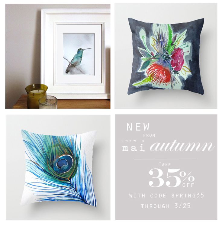 Take 35% off on maiautumn.com for Spring! Use code SPRING35 on http://shop.maiautumn.com to receive the discount. Code expires 3/25 at 11:59p EST. Happy Spring!