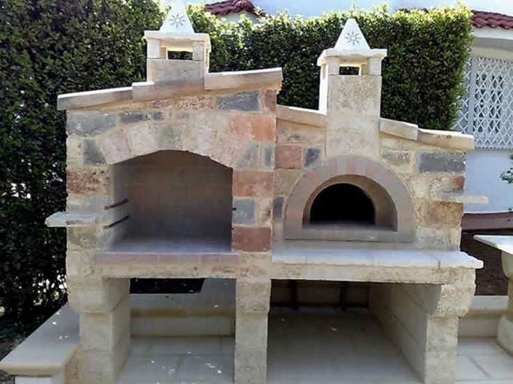 17 migliori idee su forno esterno su pinterest forno per - Barbecue a legna da esterno ...