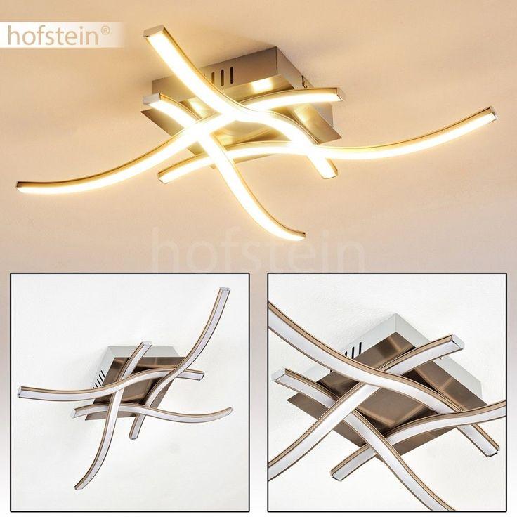 Details Zu LED Luxus Decken Lampe Wellen Design Flur Dielen Wohn Schlaf  Zimmer Beuleuchtung