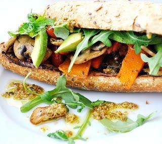 Sandwich-verduras-pesto