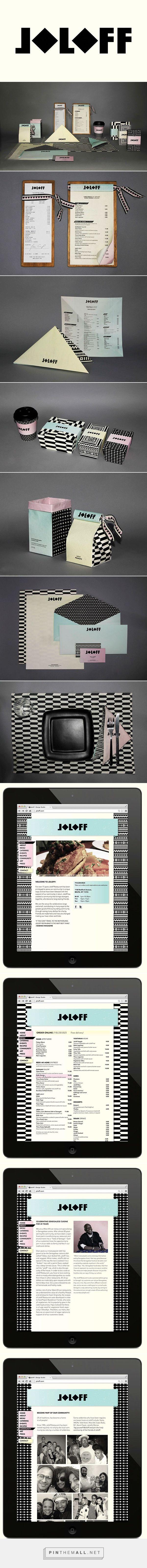Joloff Restaurant Branding by Saana Hellsten on Pratt Portfolios | Fivestar Branding – Design and Branding Agency & Inspiration Gallery