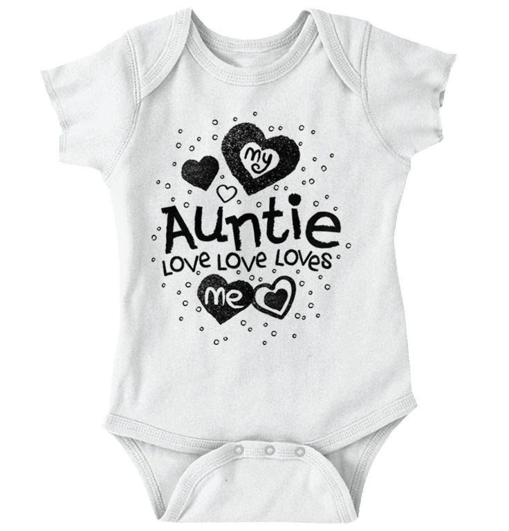 Auntie Loves Me Onesie