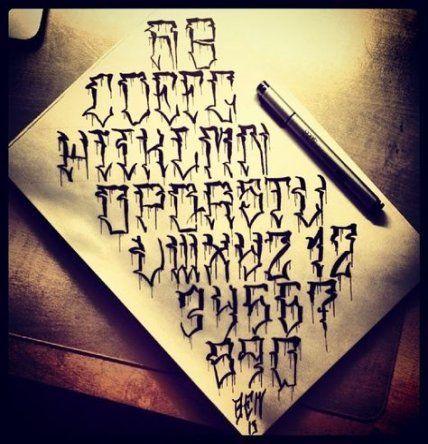 57 Ideen für Tattoo-Schriften Alphabet Men – ##tattoo #alphabet #ideen #schrift…