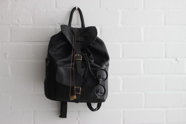 Vintage backpack. Would be great for biking to work.