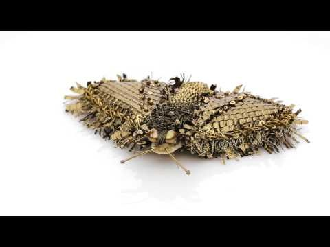 """Eve Anders Accessories - Unique Brooch """"Moth Lily"""" - YouTube"""