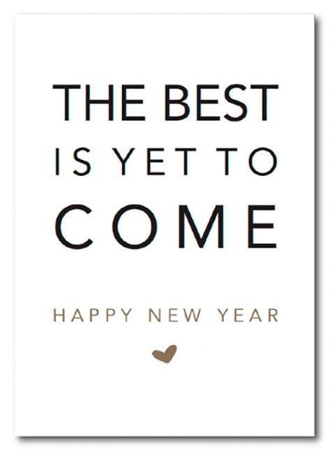 #the best is yet to come, #happy new year. Via: Law&Fashion