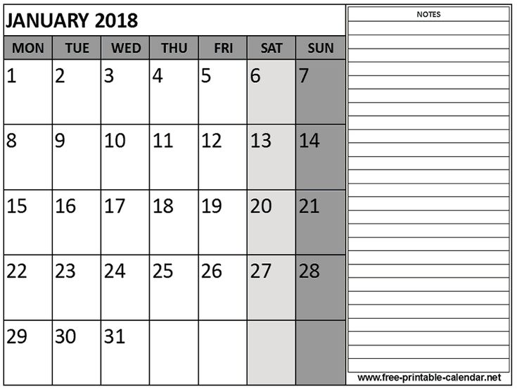 Best 25+ January 2017 calendar template ideas on Pinterest - printable calendar template
