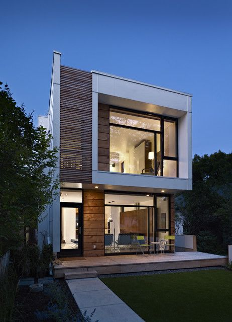 277 best modern house architecture images on pinterest for Modern townhouse design