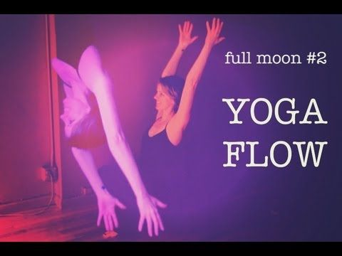 20 min Yoga Flow For Peace & Quiet   Moon Salutation 2   the Sunday Sessions