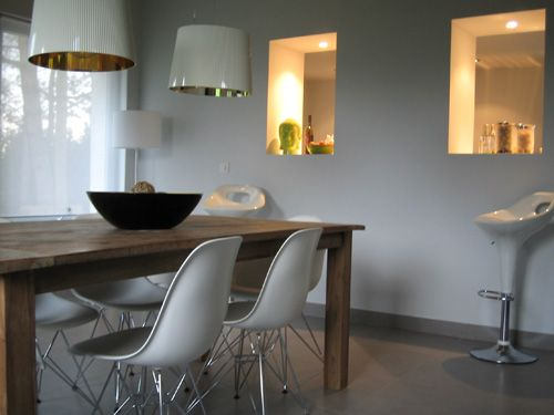 Salle à manger  http://blogs.cotemaison.fr/visiteprivee/2009/07/12/coup_de_coeur_pour_une_longere/