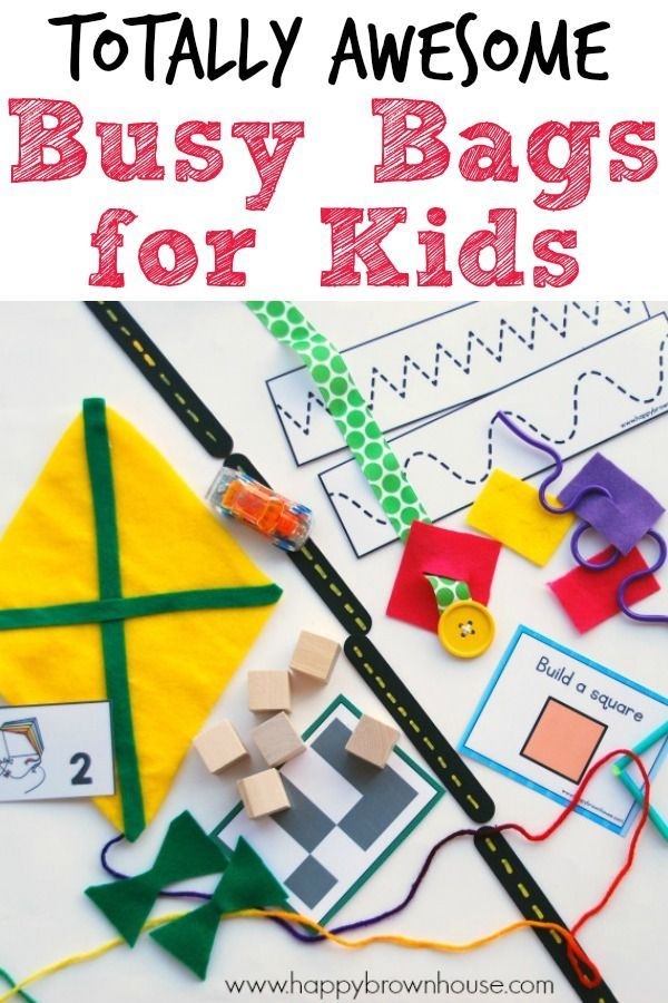 Busy Bags Kids Will Love Make-Ahead Activity Kits for a Happy Preschooler and Stress-Free Parent