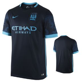 Nike  Manchester City  Soccer Jersey (Away 2015/16)