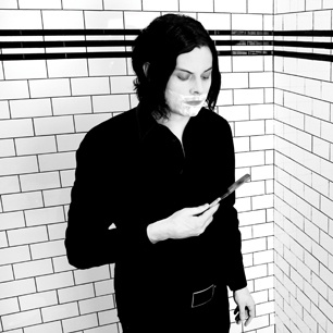 Jack White finally goes solo. Sounds promising but his fingers are pretty much gold.