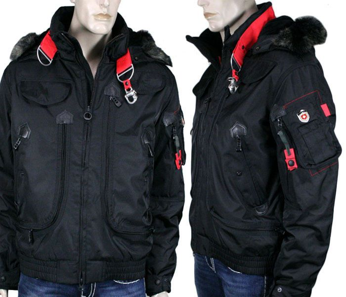 wellensteyn usa men's rescue winter jacket coat black res66