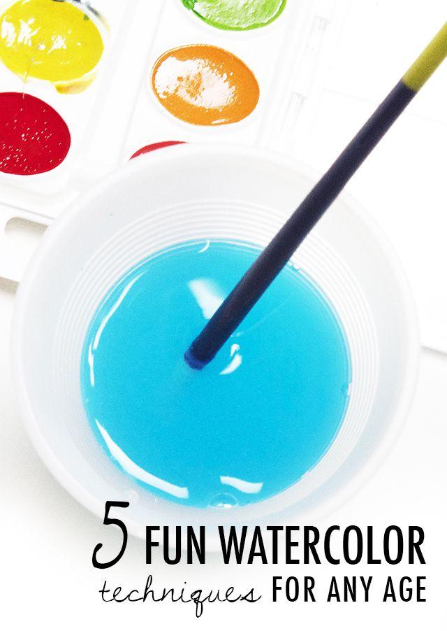 Bilder mit Wasserfarben