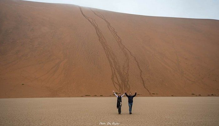 At 325m, Big Daddy in Sossusvlei's dune field is one of the highest sand dunes in the world. The thrill of conquering it is priceless!