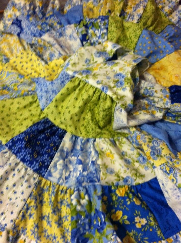 beautiful 3 tier patchwork