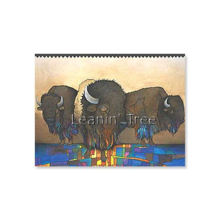 Leanin tree greatly admired buffalo birthday card