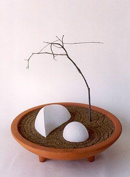 Mini abstract zen garden