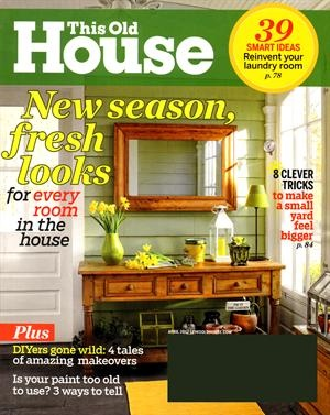 This Old House Magazine Favorite Subscriptions