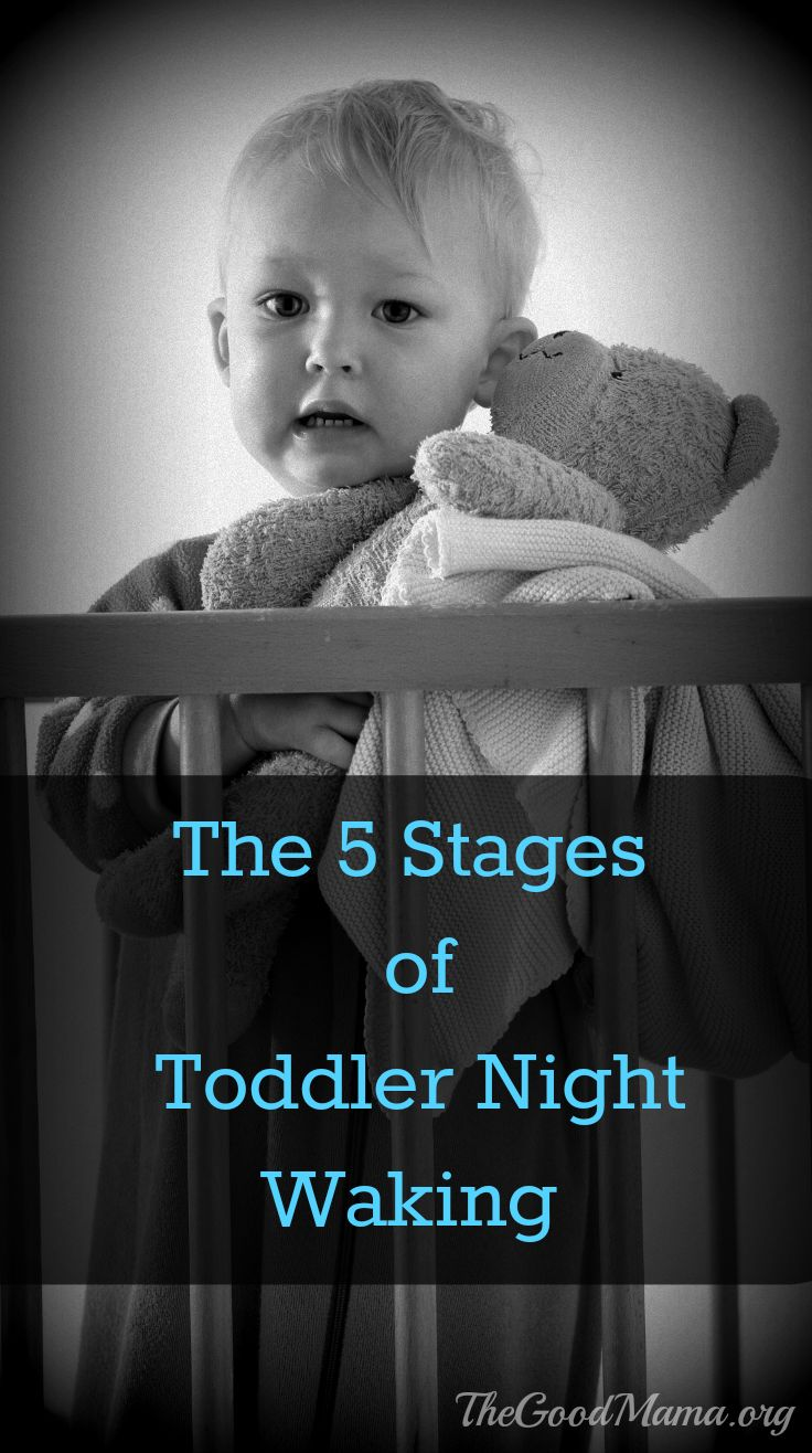 how to get out toddler to sleep throught th enight