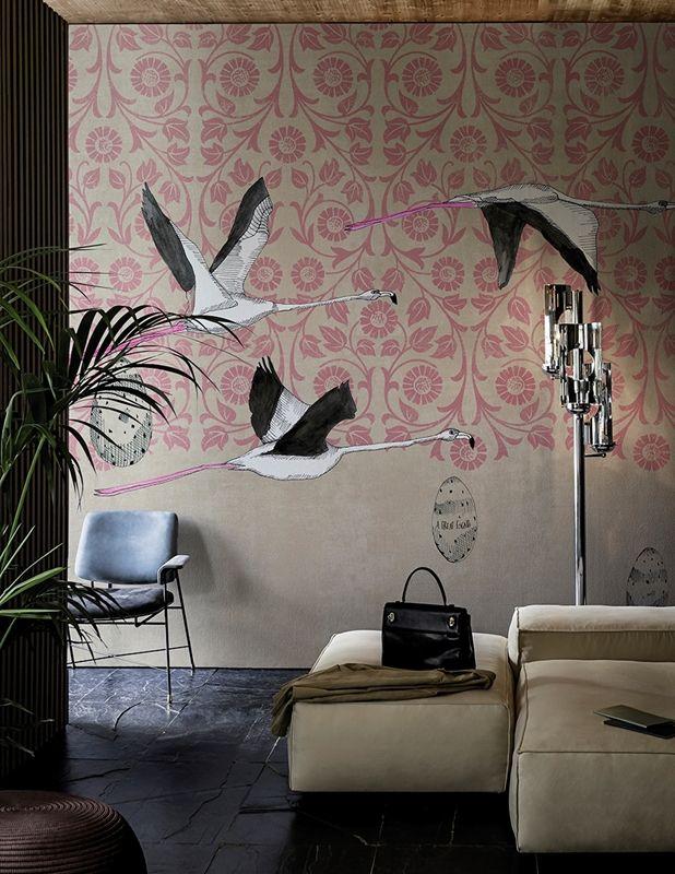 Oltre 20 migliori idee su carta da parati chic su pinterest piccola carta da parati da bagno - Idee deco wallpaper volwassene kamer ...