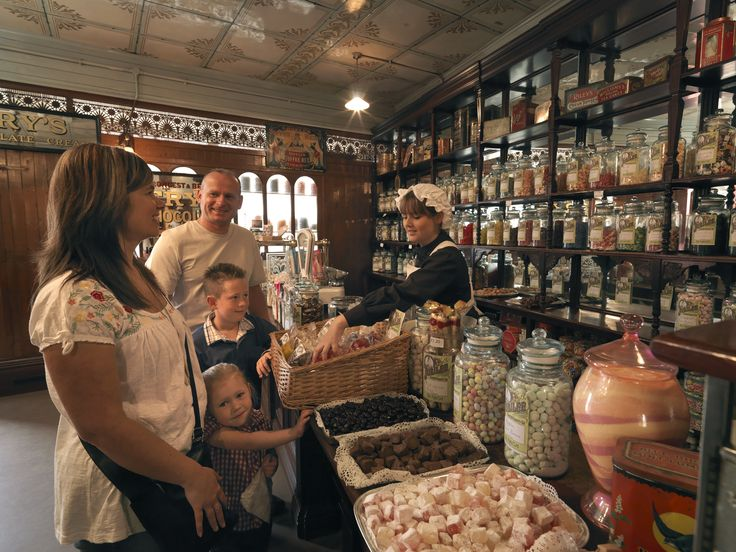 Indulge your sweet tooth at the Victorian Sweet Shop at Beamish Museum!