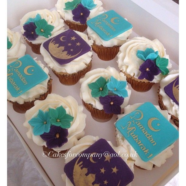 Ramadan cupcakes culinary stencils for cakes cupcakes and cookies