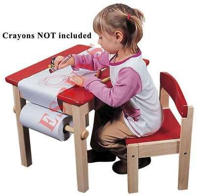 Арт-проект стол стул сиденье набора мебели из массива дерева деревянные детские детские красные