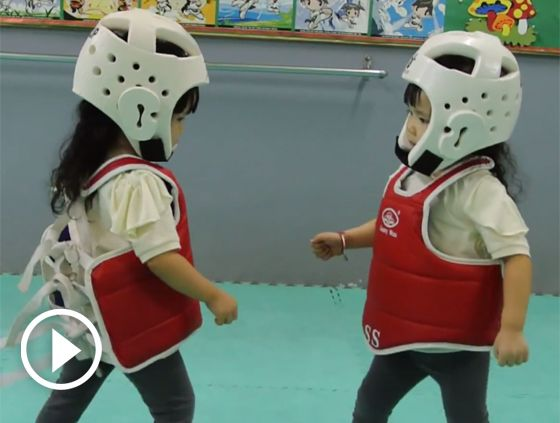 This Taekwondo Match Is Too Adorable