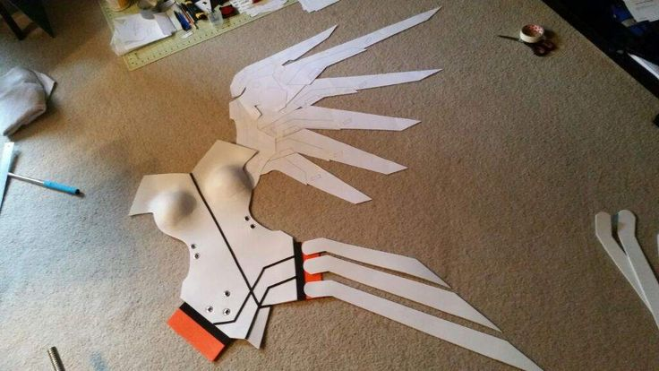 Here's where I'll be posting all my progress on Mercy from Blizzard's upcoming game Overwatch. , , A ...