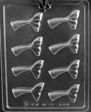 Mermaid Tail Pieces Mold Nautical Themed Party Mermaids Ariel
