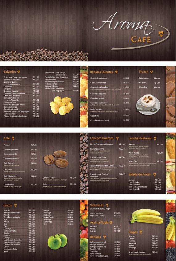 30 Elegant Cafe and Restaurant Menu Designs - Part 1 | Multy Shades