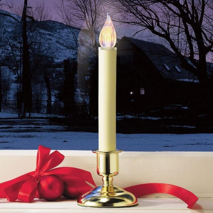 Christmas Candles For Windows Cordless