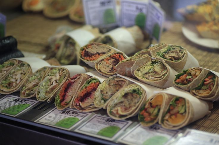 Gluten Free Wraps - take away, eat in or order through from our catering menu!
