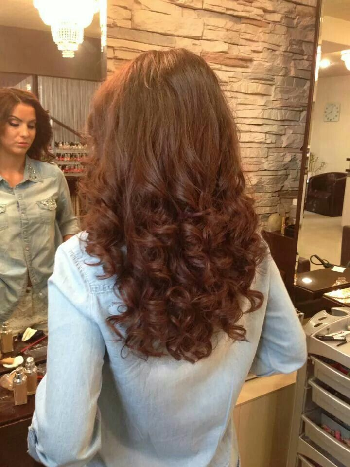 gorgeous hair with curls - divastudio.ro