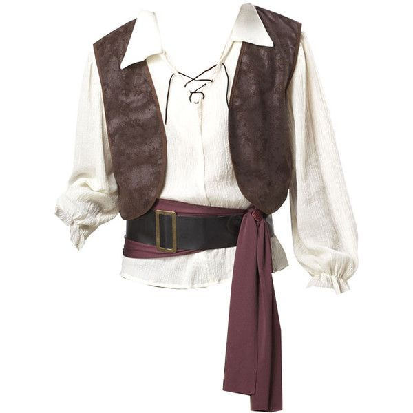 Men Medieval Tunic ❤ liked on Polyvore featuring men's fashion, men's clothing, men's shirts, men's casual shirts, shirts, tops, men and pirate