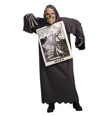#Costume #Carta della #Morte #Halloween