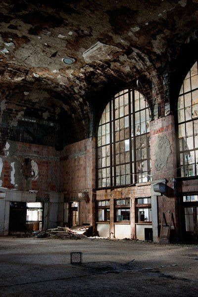 Abandoned Buffalo Central Station, Buffalo NY *I wonder at the lives that have passed through this station...