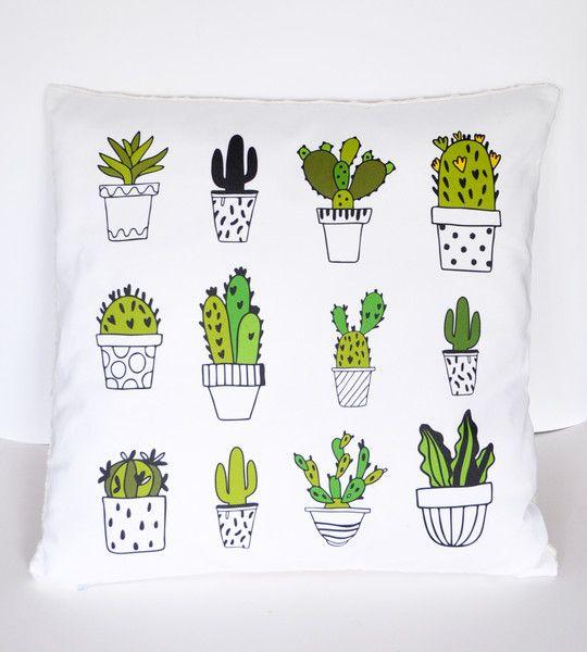Poduszka Kaktusy - byAyako - Poduszki
