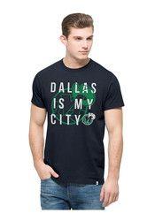 '47 Dallas Mens Navy Blue Crosstown Flanker Fashion Tee