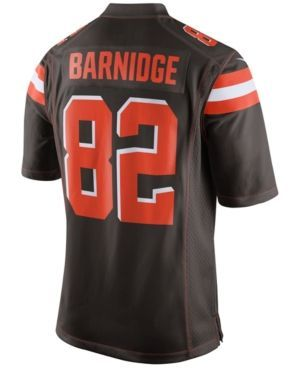 Nike Men's Gary Barnidge Cleveland Browns Game Jersey - Brown XXL