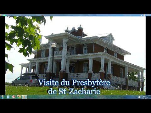 Normand DeLessard effectue une visite au presbytère de Saint-Zacharie | EnBeauce.com