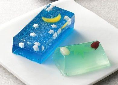 亀屋清永「星づく夜」Star festival(Japanese cake)